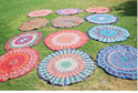 Indian Zodaic Tie Die Tapestry
