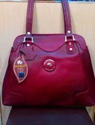 Shoulder bag Maroon Starco Ladies Leather Purse