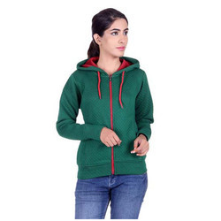 Womens Green Sweatshirt
