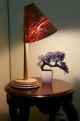 Wooden Corporate Gift Signature Lamp