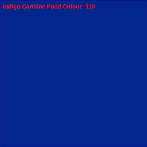 110 Indigo Carmine Food Color