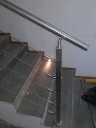 SS Roof Wire Railing