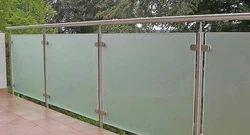 Steel Glass Railing