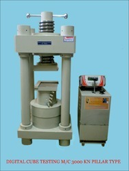 Digital Four Pillar Cube Testing Machine