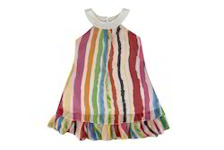 Hunny Bunny Girl's A-line Multicolor Dress