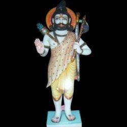 Marble Parshuram Marble Statue