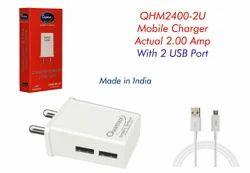 Qhm 2400-2u Moblie Charger 2.0 Amp