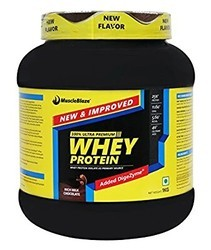 Muscleblaze Whey Protein 1kg, Boost Energy, Muscle Building, Weight Gainer, Meal Replacement, Lean Muscle Mass