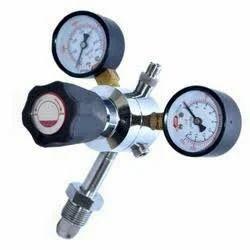 Regulator, Quick Disconnect CO2/O2/H2/N2/Zero  Regulator With Pressure Adjustment Knob,