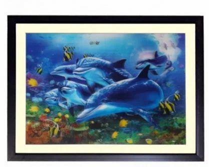 Blue Aquarium 2 Framed 3d Print Painting at Rs 5280 /piece ...