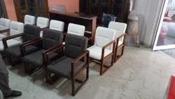 Northern Teak Wood Visitor Chair