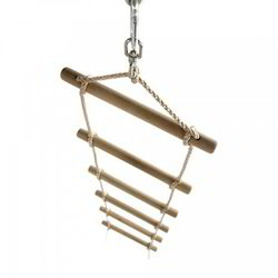 Rope ladder wooden