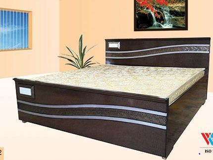 Superb Modular Wooden Double Bed