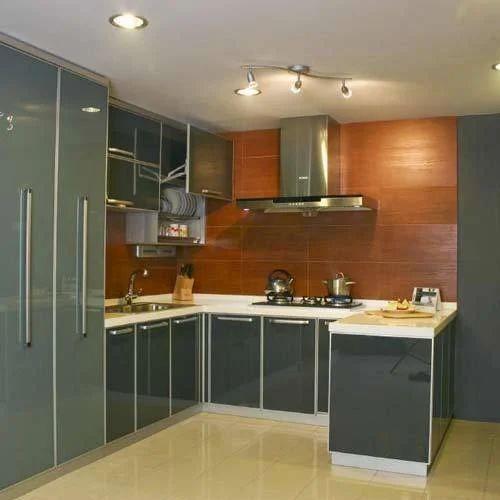 Modern U Shaped Modular Kitchen Rs 150000 Set Petals Kitchens And Interiors Id 13662659730