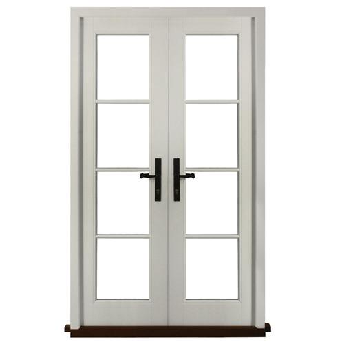 Upvc French Door At Rs 450 Square Feet Upvc Door Zeconex