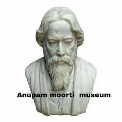Rabindranath Tagore Marble Statue
