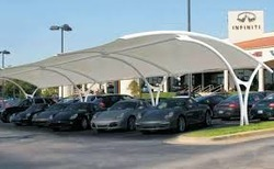 Parking Tensile Structure