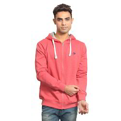 Coral Zipper Hoodies
