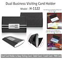 Dual Visiting Card Holders -H-1122