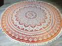 Exclusive Ombre Mandala Table Cloth, Size: 66 Inches Diameter