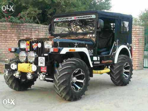 Modified Open Jeep at Rs 390000 /piece | Mandi Dabwali | Sirsa | ID