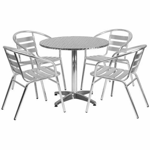 Aluminium Dining Table Set Aluminium Dining Table Aluminum Ki Amazing Aluminum Dining Room Chairs