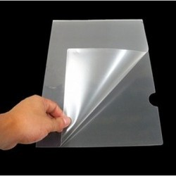 Plastic L Folder A4