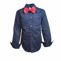 Polka Dot Boys Shirt