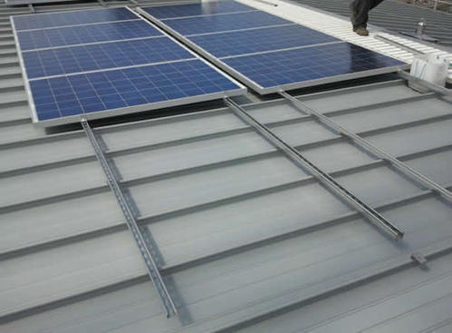 Solar Panel Rail Based Mounting System - Microtech Engineers