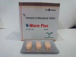 Albendazole- 400mg Ivermectin- 6 mg