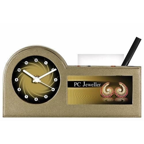Customized Pen Stand & Clock