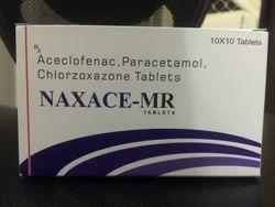 Aceclofenac Chlorzoxazone Paracetamol Tablets