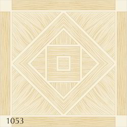 Beige Porcelain Decorative Floor Tiles, Thickness: 8 - 10 mm And 8 - 10 mm