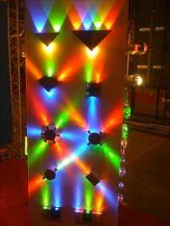 Ceramic And Crystal LED Decorative Light