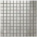 Silver Stainless Steel Wall Tile, Thickness: 6 - 8 Mm