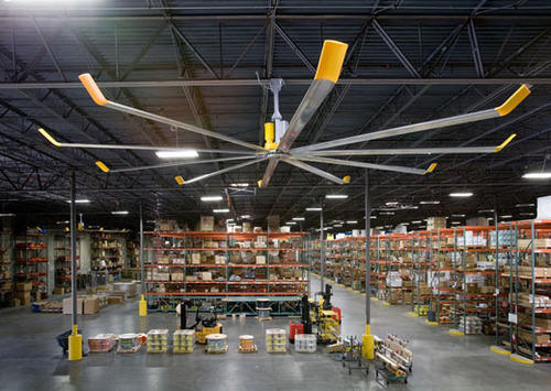 Big Ceiling Fan Industrial Ceiling Fan Air Flow
