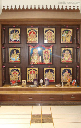 Pooja Room Paintings Sandiv Art Gallery Retailer In