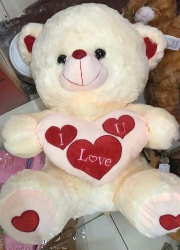 brown and pink girl love heart teddy bears rs 220 piece id
