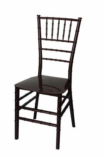 Plastic Black Chiavari Chair, Size: 390 X 558 X 913 Mm
