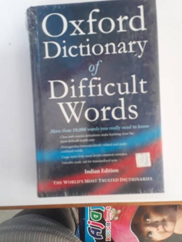 oxford dictionary  Oxford Dictionary Of Difficult Words - Spectrum Books & Stationery ...