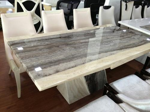 Natural Color Imported Italian Marble Dining Tables Rs