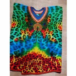 Colorful Digital Printed Kaftan