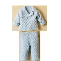 Unisex Plain Baby Wear Pyjama Set