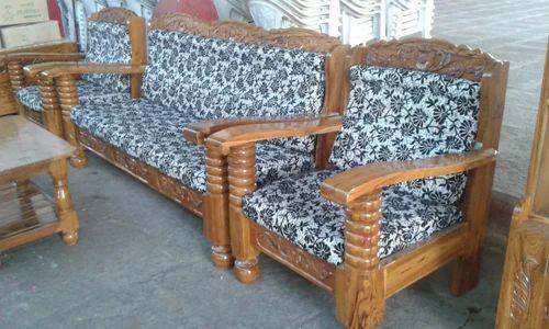 Home Teak Wood Sofa