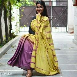 S113473 Cotton Shibori Saree