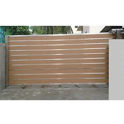 Semi Automatic Sliding Gate