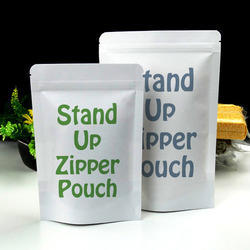 Stand Up Zipper Pouch