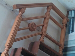 Wooden Stairs Railings