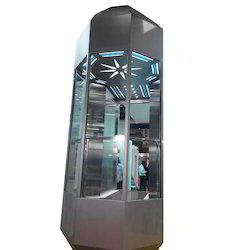 Bright Hydraulic Passenger Elevator, Max Persons: 6 person, With Machine Room