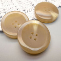 Brown Polyester Button, Size/dimension: 8mm